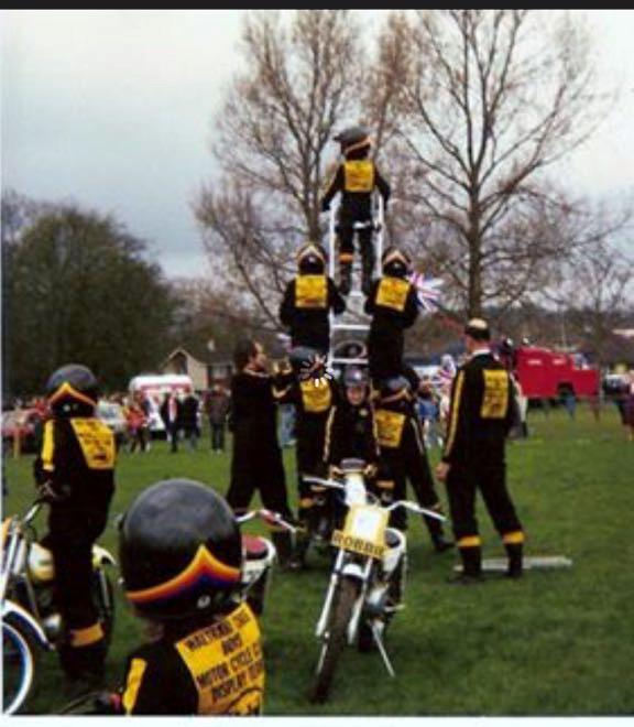 Dan part of the bike pyramid