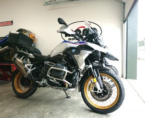 We welcomed two brand new BMW1250GS HP's to the workshop on Friday with less than 200 miles on them between them!