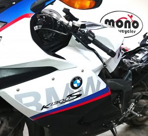 The second K1300, the BMW K1300S, joined us on Thursday for servicing & wiring upgrades.