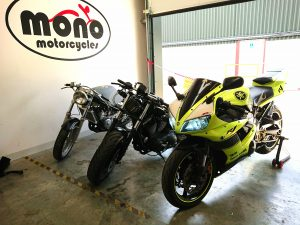 We welcomed one of our regular customers Yamaha R1's to the workshop midweek, as sadly while he was out enjoying the sunshine last weekend, his rear wheel bearing collapsed.