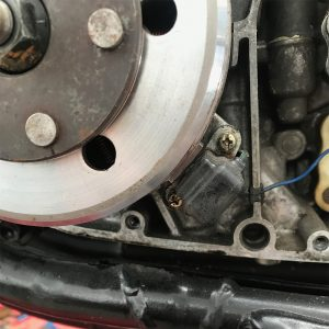 Following further testing & inspection, Daniel then traced the issue to the crank shaft sensor which had moved away from the flywheel, as the bolt was loose. Hence no spark.