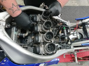 The R1 joins us for a suite of tasks including, carburettor strip & rebuild, a major service, security upgrades & a full detail.