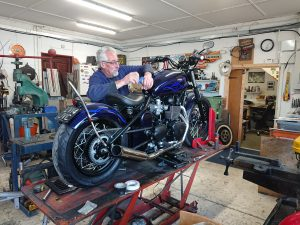 Dave Batchelor has been customising motorcycles since 1974 & is recognised as one of the most established motorcycle custom experts in the UK today.
