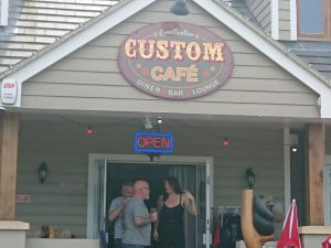 Our destination was the The Custom Cafe The Custom Cafe in Bexhill on Sea.