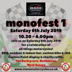 monofest1 is only two weeks away & we are all very excited at mono motorcycles.